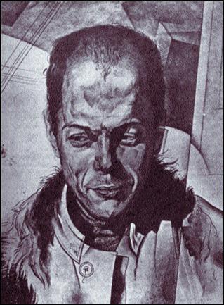 Sklovskij, Viktor Borisovic, Prosaiker,  Lit wisenschafter, 6.2.1893 St Petersburg. Vater Mathematiker,  jьd.-russ.-deutcher Abstammung.   Рис. Ю. Анненкова