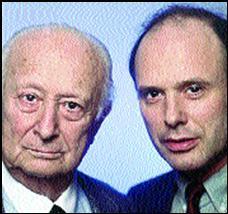 В. Шпильман с сыном Андреем.