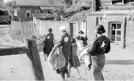 Выселение евреев вМогилеве виюле 1941 года