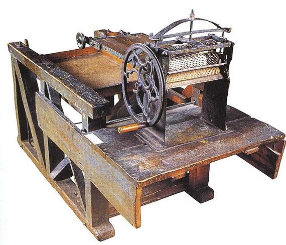 Машина для изгтовления мацы. Львов. Вторая половина XIX века