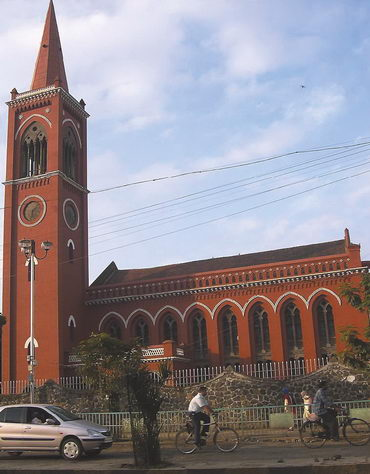 Красная церковь. Пуна