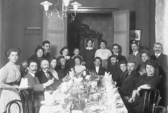 Свадьба бабушки Нессы Давидовны Альперович идедушки Исаака Григорьевича Цытрона. Рига. 1910