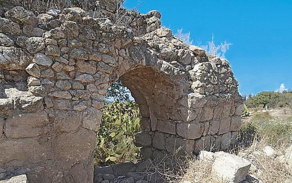 Наразвалинах древнего города Уши. Израиль