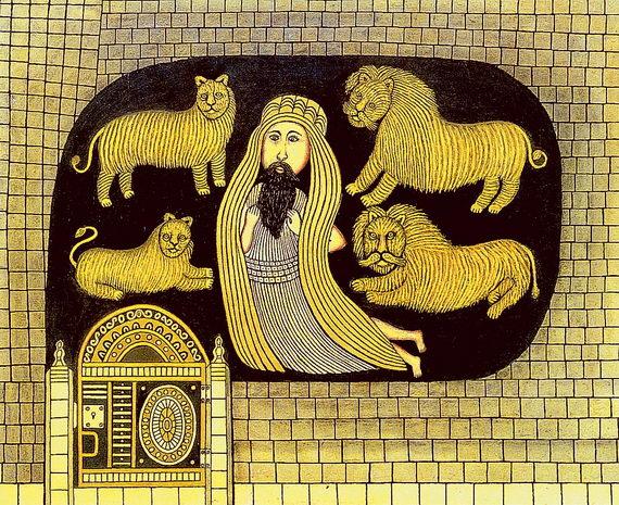 Даниэль вяме сольвами. Морис Хиршфельд. 1944. Галерея Сидни Джаниса, Нью‑Йорк