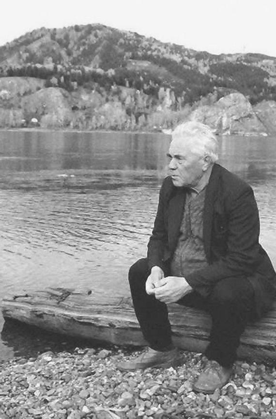 Виктор Астафьев. Конец 1990‑х. www.krascult.ru