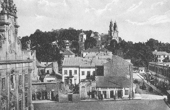 Панорама города Бучача. 1930‑е