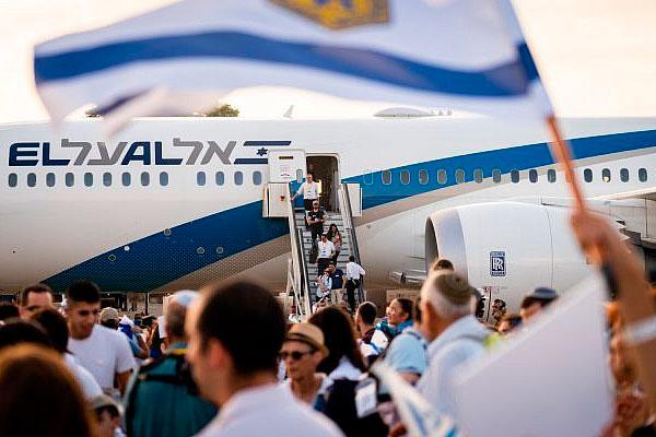 В этом году Израиль отмечает небольшое снижение алии
